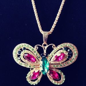 Jewelry - Butterfly Sweater Chain